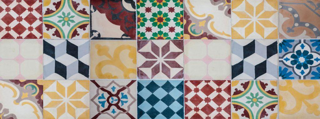 Tapis Mosaico Vintage - Multicolore