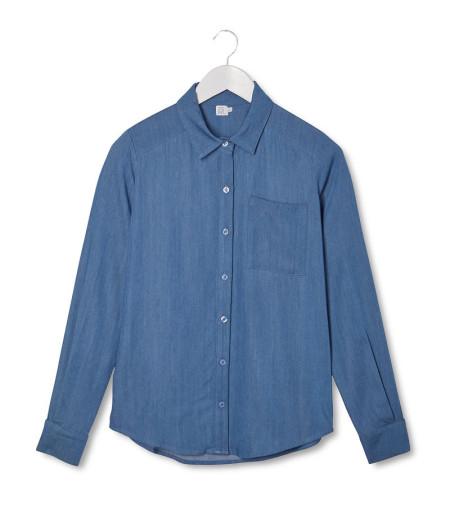 #CollectionIRL mademoiselle denim shirt