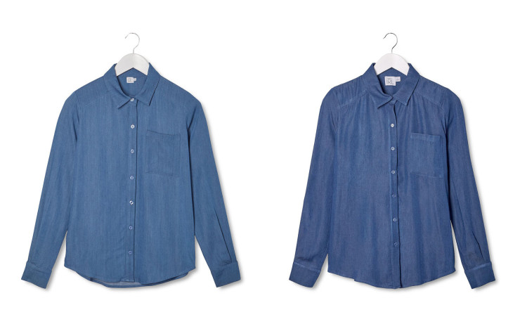 #CollectionIRL mademoiselle denim shirt