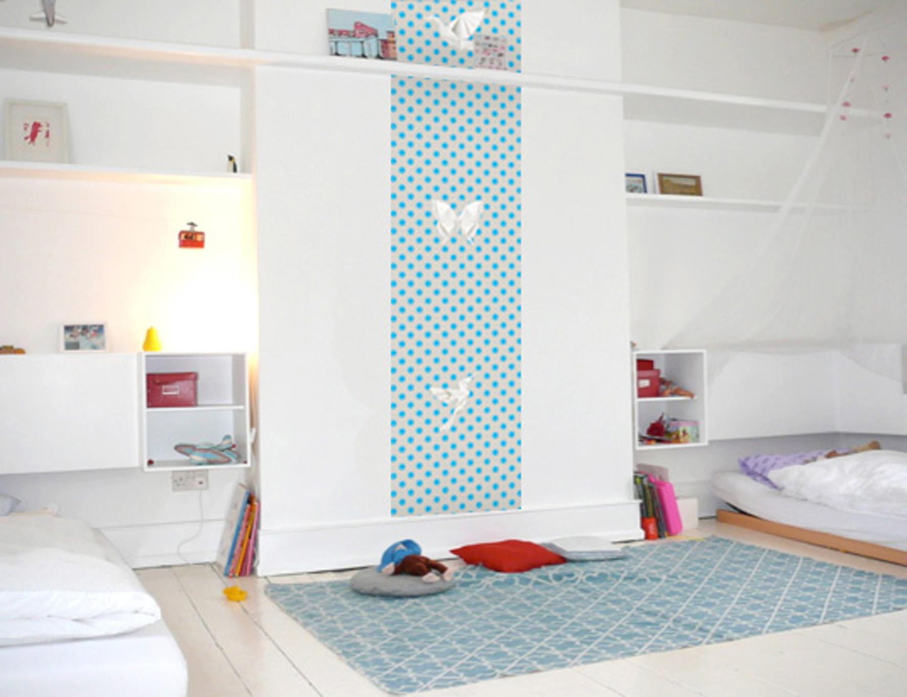 d co 5 fa ons de disposer son papier peint. Black Bedroom Furniture Sets. Home Design Ideas