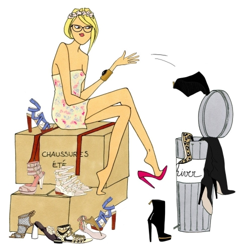 Angéline Mélin dessin