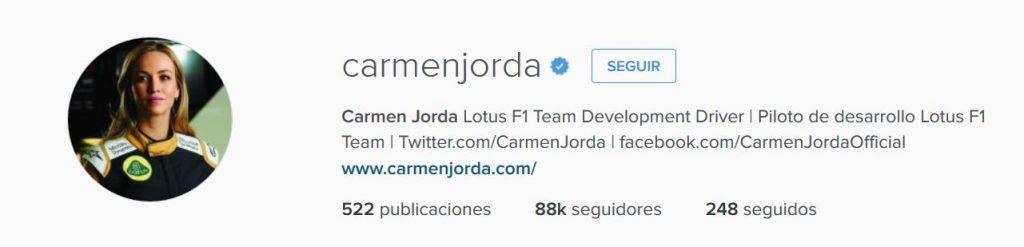 Instagram Carmen Jorda