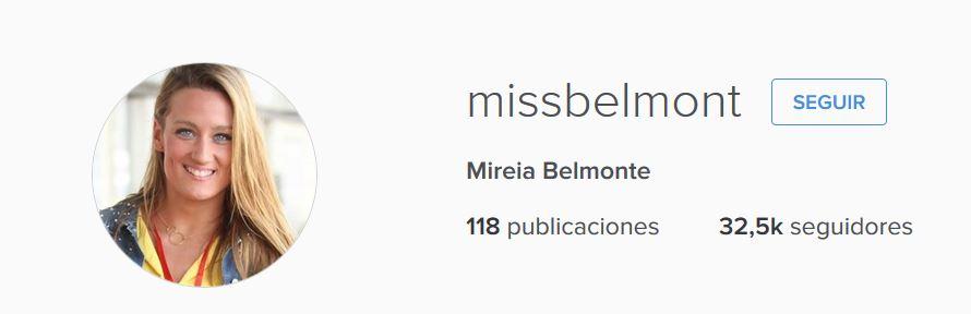 Mireia Belonte Instagram