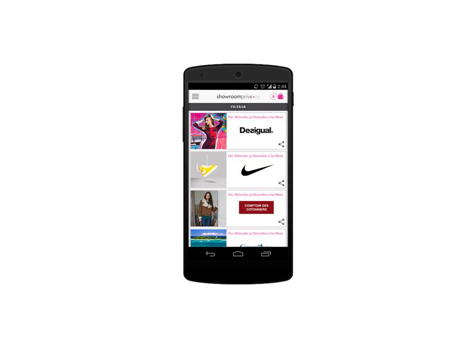 mobile para el blog