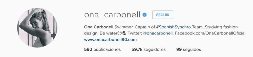 Instagram Ona Carbonell