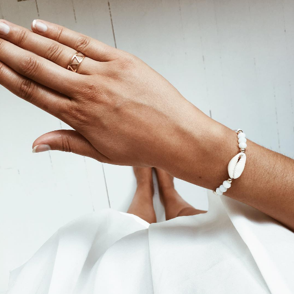 Bracelet coquillage - @marina_de_s