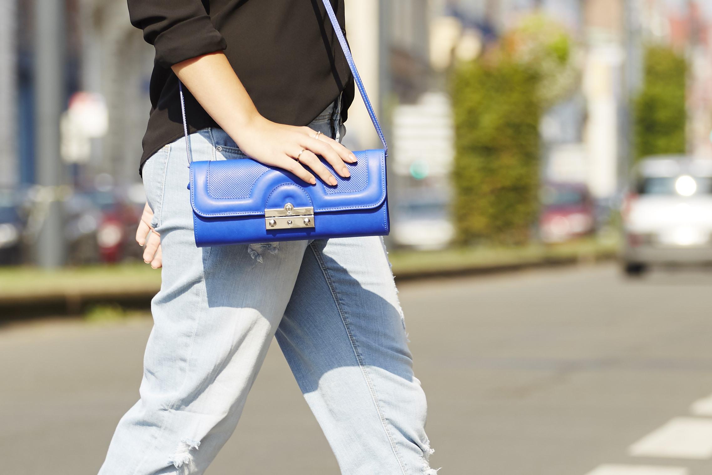 texier sac bleu