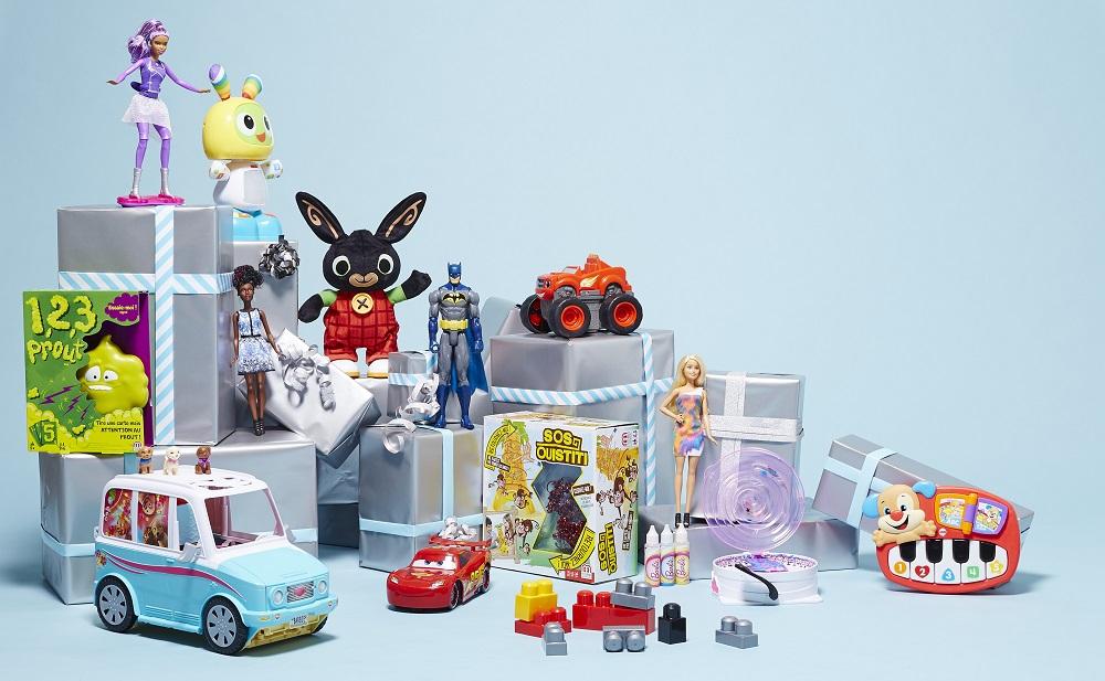 Mattel - les jouets de Noël
