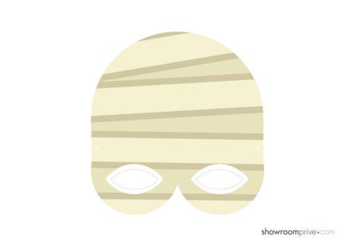 masque momie