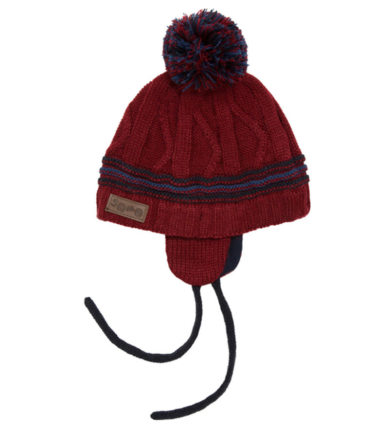 Bonnet rouge bordeaux