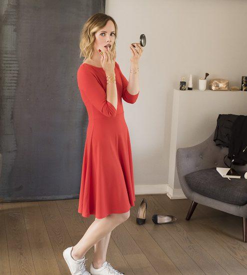 Mathilde Lacombe IRL - robe