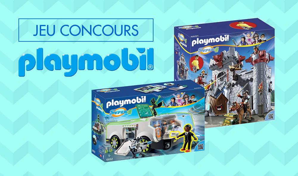 Playmobil - jeu concours Super 4