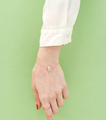 Mistinguette - bracelet coeur