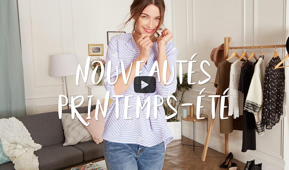 Vidéo du lancement Nouvelle #collectionIRL