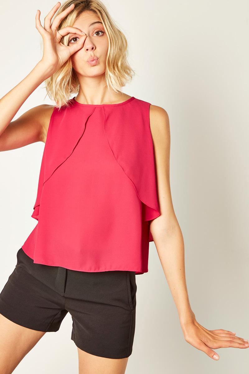 Vente de vêtements rose et fuschia