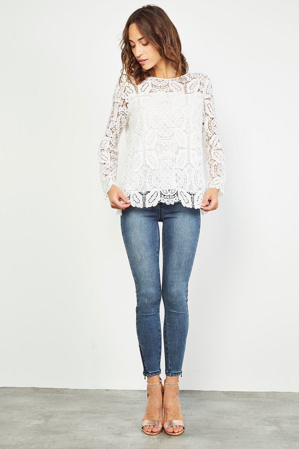 Blouse en guipure - #collectionIRL