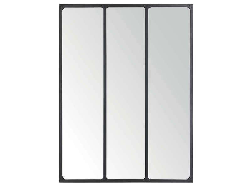 Miroir en métal Conforama