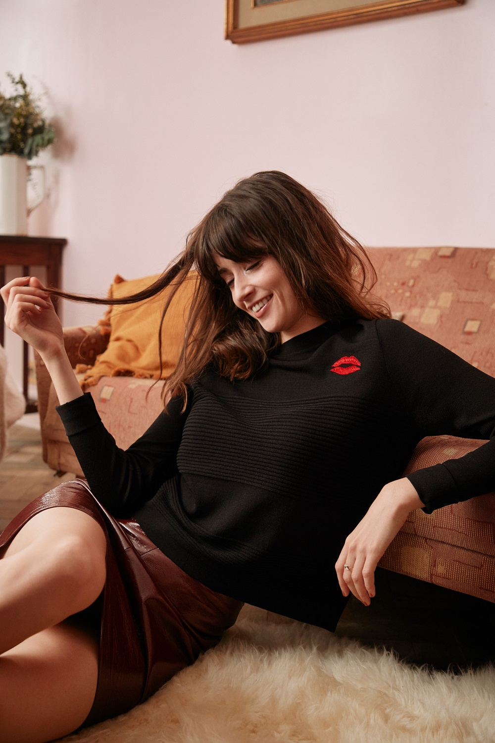 Nouvelle #collectionIRL - pull bisou