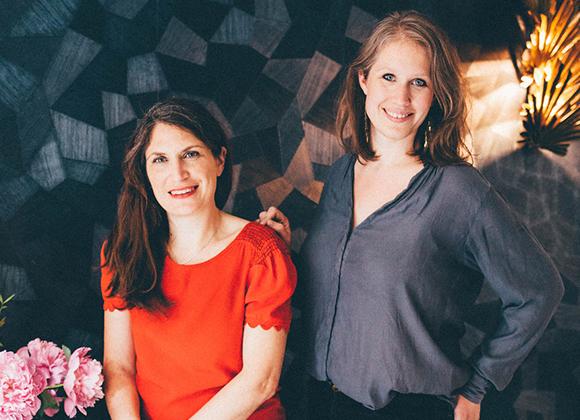 Carine & Anne-Sophie Hello Blogzine