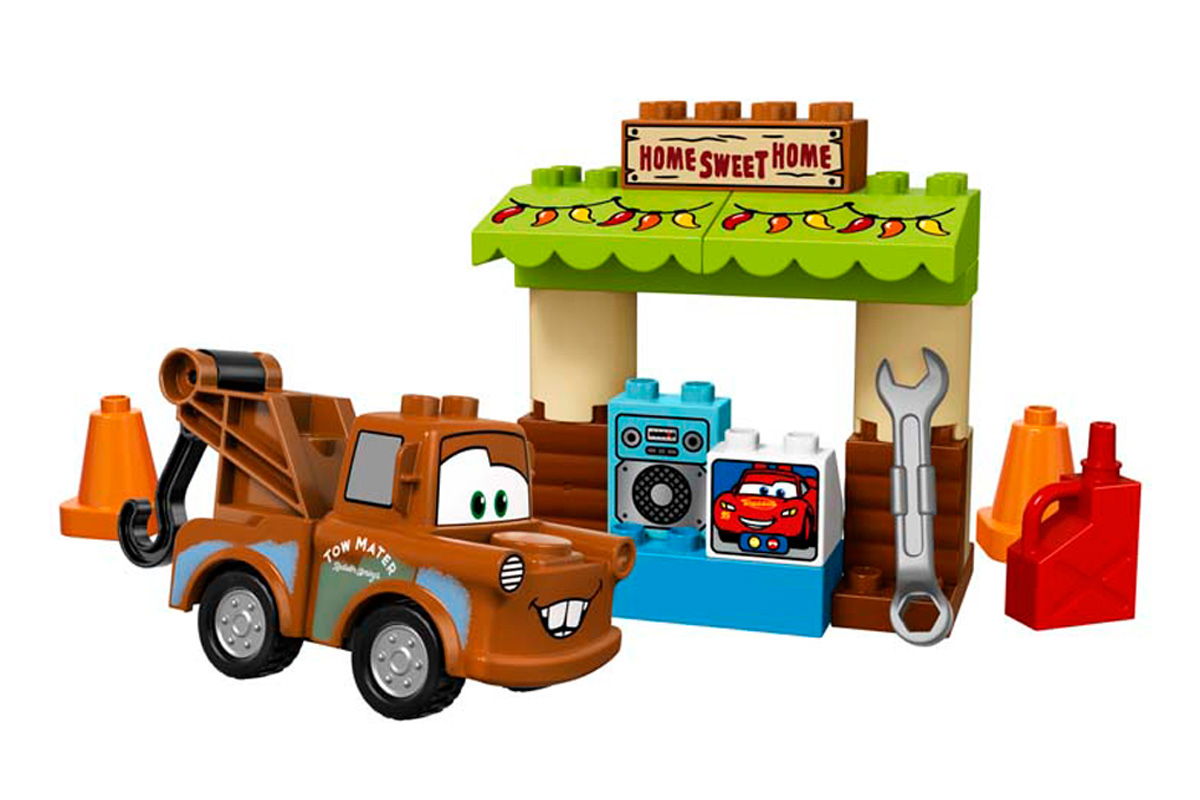 La Cabane de Martin - Lego Duplo Cars