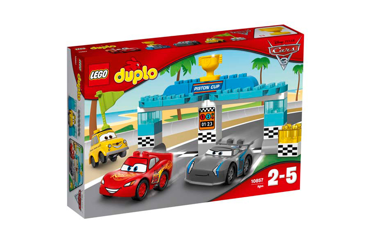 La Course de la piston - Lego Duplo Cars