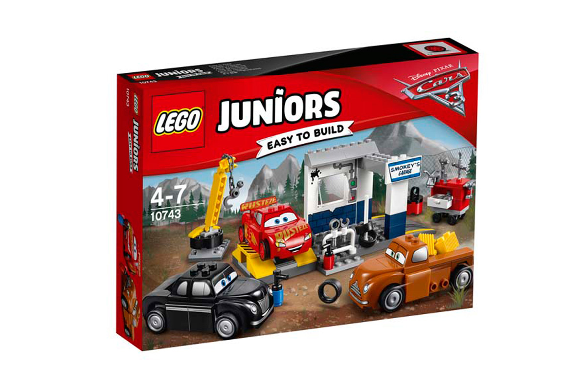Le garage de Smokey - Cars Lejo Juniors