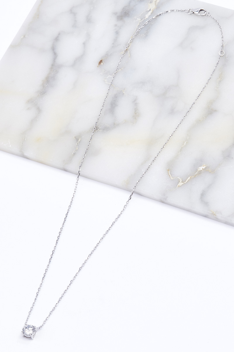 Collier argent collection IRL