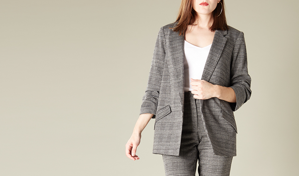 Tailleur gris #collectionIRL