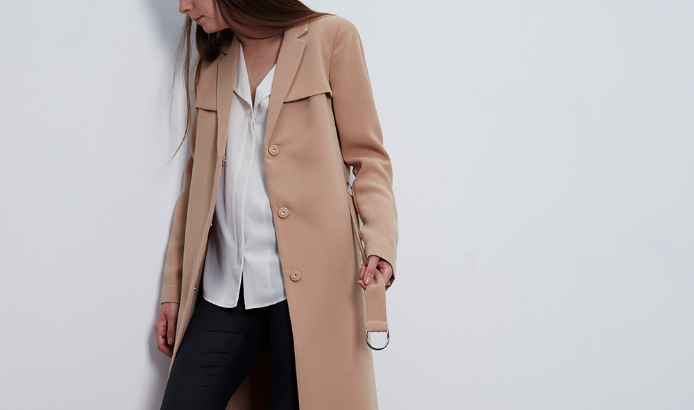 trench beige #collectionIRL