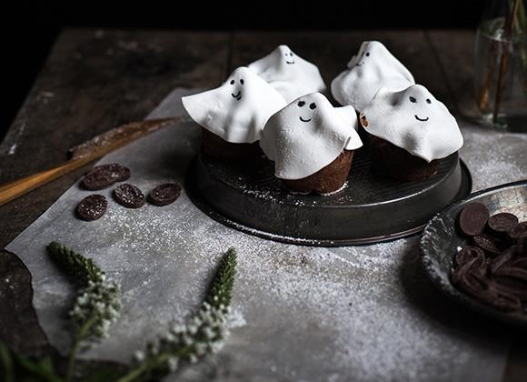 Recette des muffins fantômes