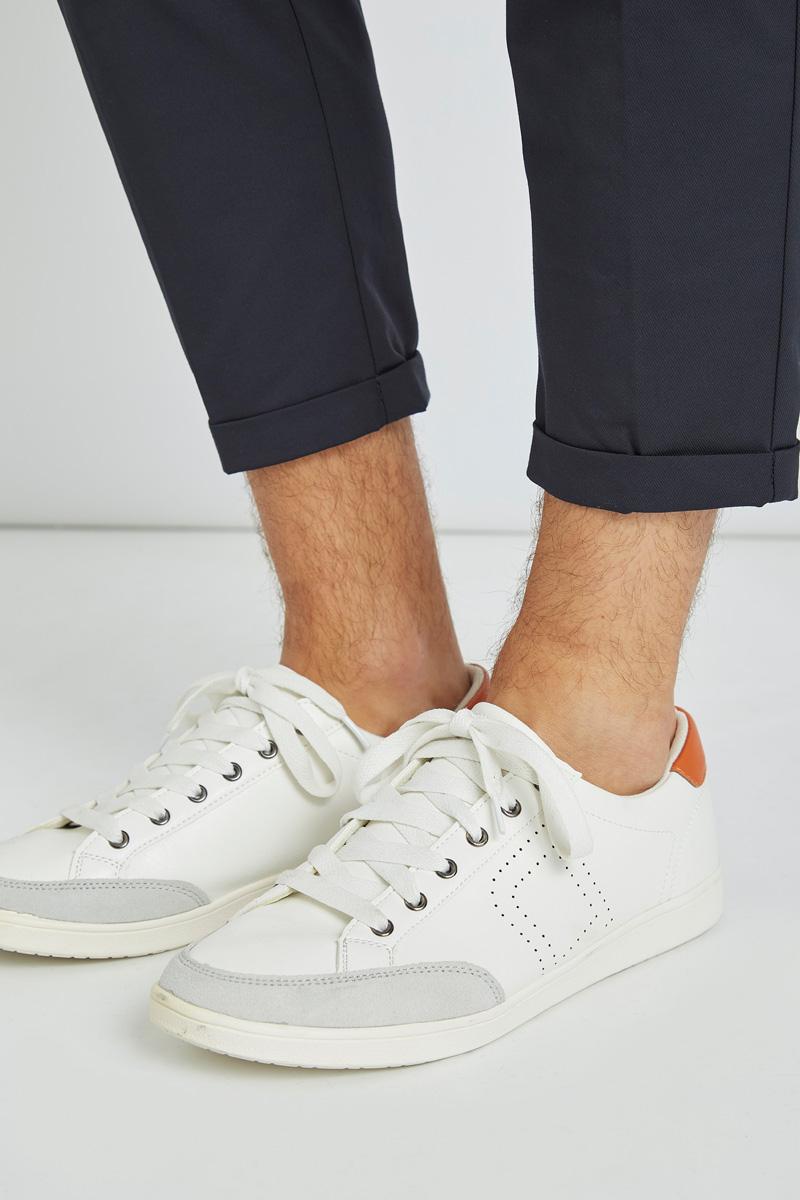 Baskets blanches Devred
