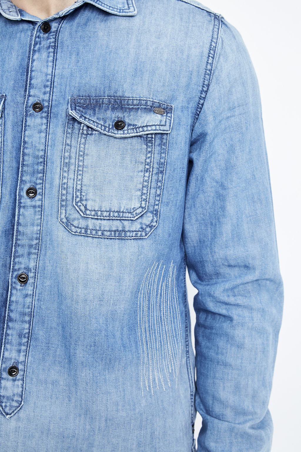 Chemise en jean Pepe Jeans homme