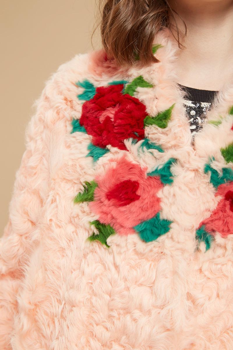 Manteau motifs colorés Manoush