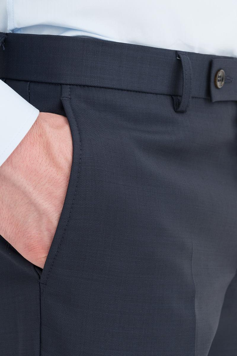 Pantalon droit en laine Devred