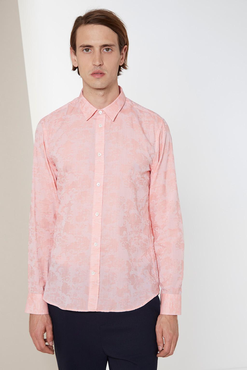 Vente privée Paul and Joe homme chemise rose
