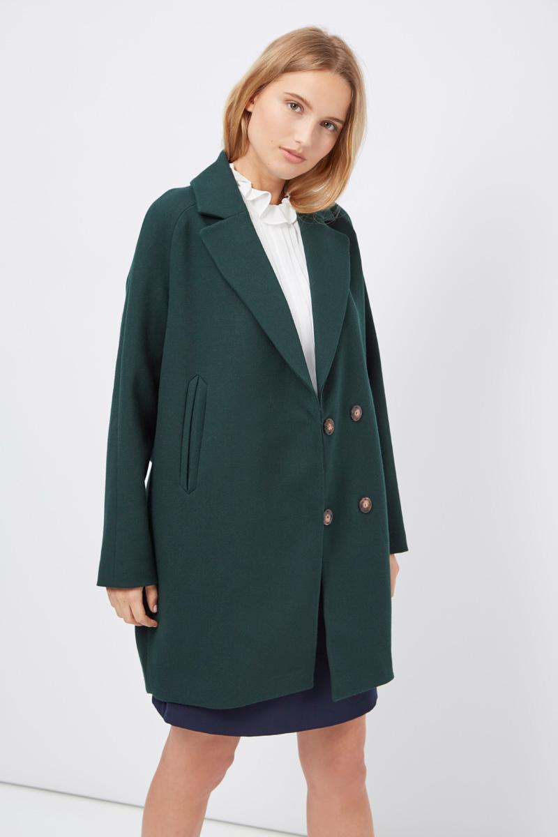 Vente privée femme Sinequanone manteau vert