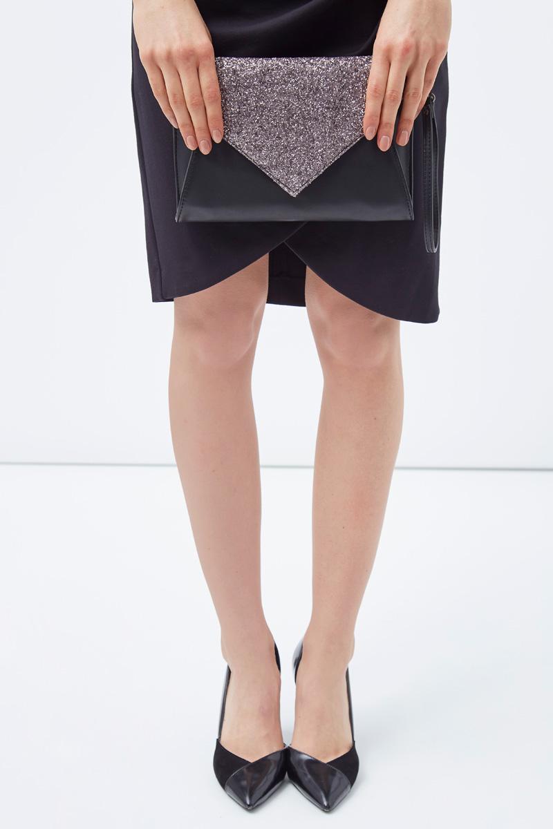 Vente privée Sinequanone femme pochette en cuir