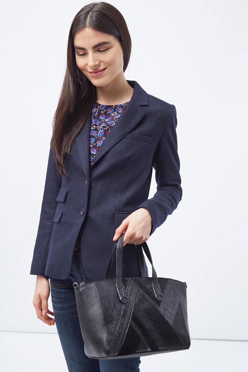 Vente privée Sinequanone femme accessoire sac à main en cuir noir