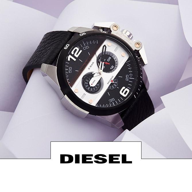 Vente horlogerie montres hommes et femmes Festival Fossil, Diesel