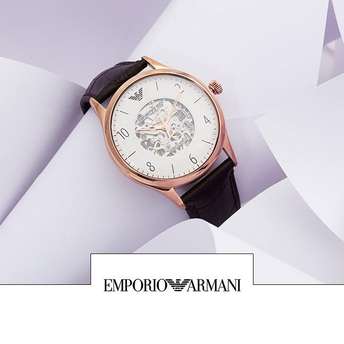 Vente horlogerie montres homme et femme Festival Fossil, Emporio Armani