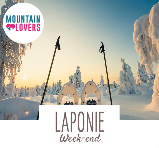 Vente Mountain Lovers séjour en Laponie