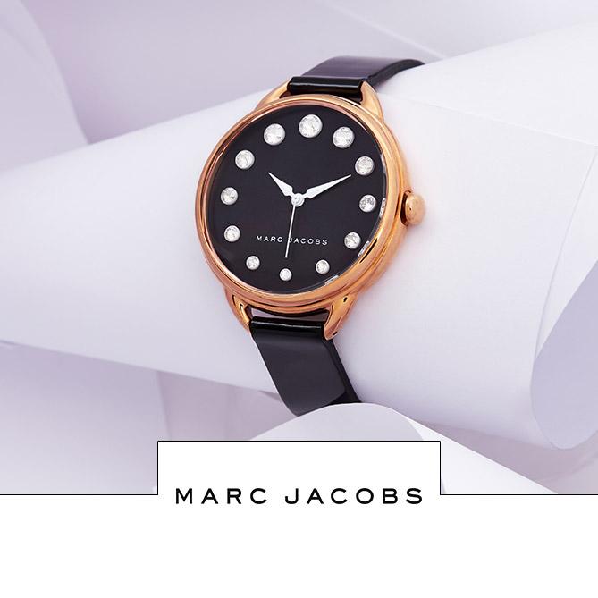 Vente horlogerie montres homme et femme Festival Fossil, Marc Jacobs