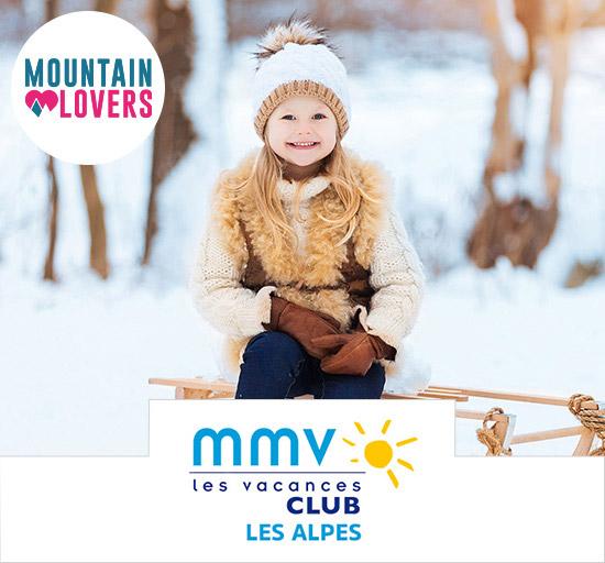 Vente Mountain Lovers séjour dans les Alpes