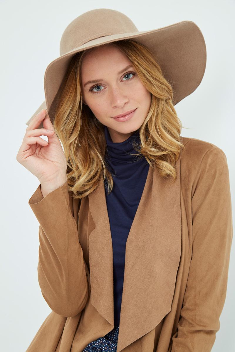 Vente privée Showroomprivé Camaieu accessoires pour femme, capeline beige