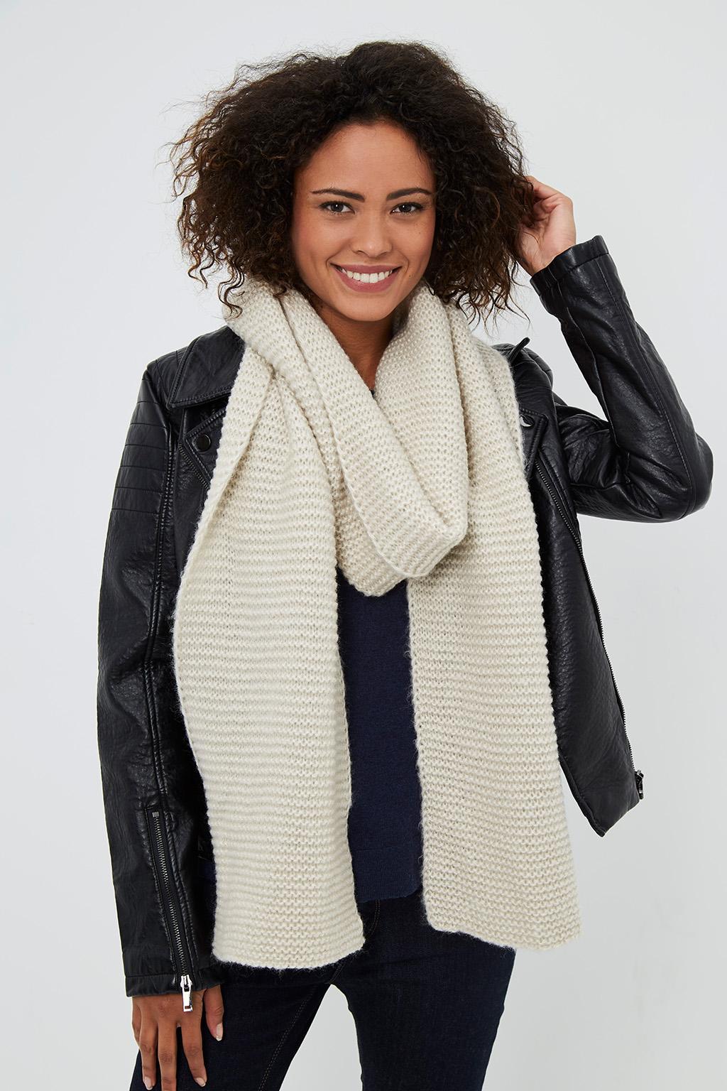 Vente privée Showroomprivé Camaieu accessoires pour femme, écharpe beige