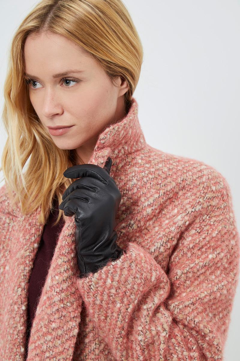 Vente privée Showroomprivé Camaieu accessoires pour femme, gants en cuir noir