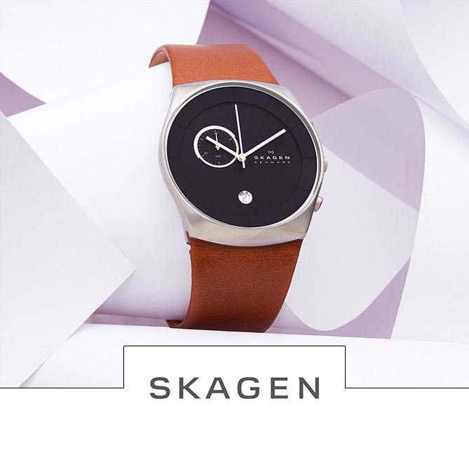 Vente horlogerie montre hommes et femmes Festival Fossil, Skagen