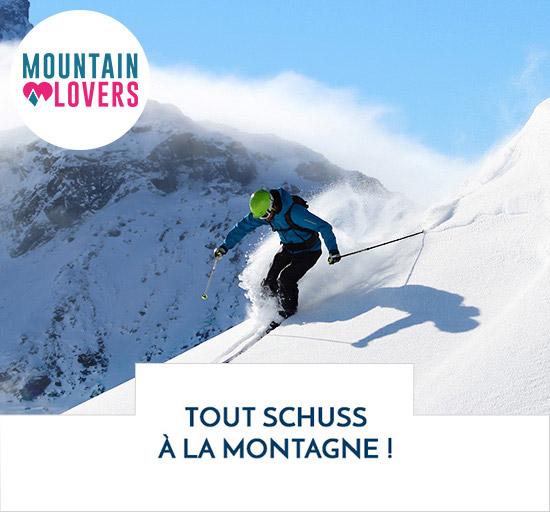 Vente Mountain Lovers séjour dans les Alpes et Pyrénées