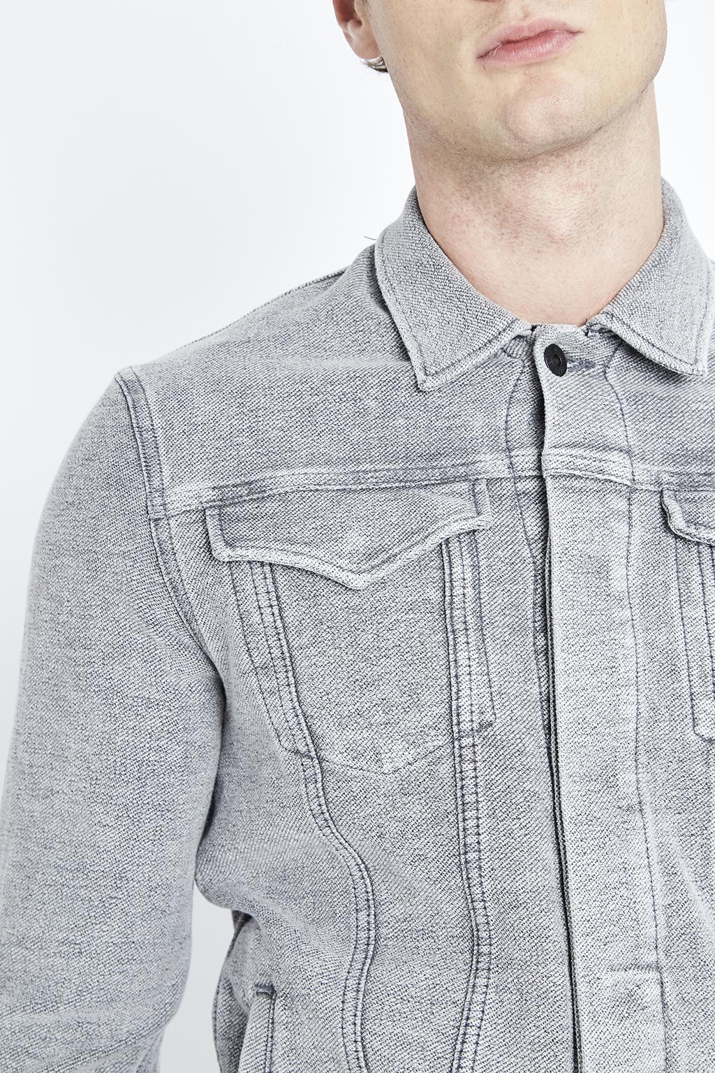 Vest en jean gris Pepe Jeans