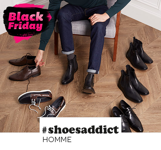 Vente privée de chaussures pour homme, Black Friday sur Showroomprivé